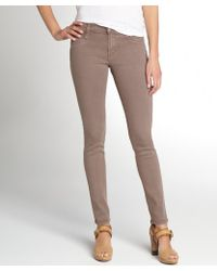 James Jeans Cafe Stretch Denim James Twiggy Skinny Jeans - Lyst