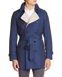 Burberry London Kensington Mid-Length Trenchcoat - Lyst