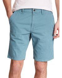 Joe's Jeans Brixton Twill Shorts teal - Lyst