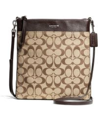 COACH - Bleecker Large Swingpack in Signature Coated Canvas - Lyst