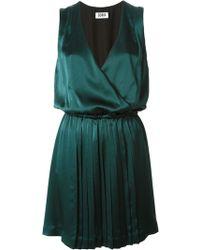 Sonia By Sonia Rykiel Gathered Pleated Dress - Lyst