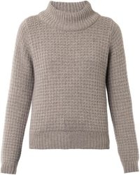 Esk | Violet Cashmere Knit Sweater | Lyst