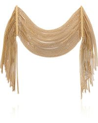 Chloé - Delfine Multi-Strand Gold-Tone Bracelet - Lyst