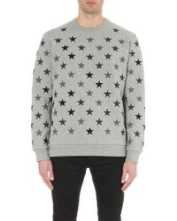 Givenchy - Star Embroidered Sweatshirt - Lyst