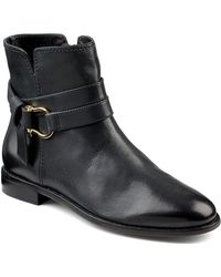 Sperry Top-Sider Clinton Leather Ankle Boots - Lyst