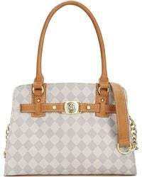 Marc Fisher - Checkmate Belted Satchel - Lyst