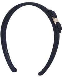Ferragamo | Grosgrain Headband With Bow | Lyst