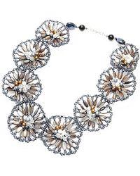 Nakamol - Whirligig Collar Necklace - Lyst
