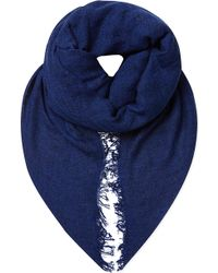 Sandro Silk and Cashmere Heather Scarf - Lyst