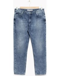 & Other Stories - Cropped Boyfriend Jeans - Lyst
