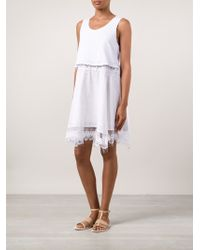 Thakoon Lace Trimmed Dress - Lyst