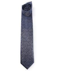 Lanvin Polka Dot Tie blue - Lyst