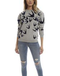 McQ Alexander McQueen | Flock Sweatshirt | Lyst