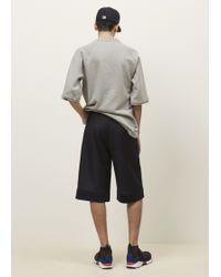 Marni | Grey Melange Garment Washed Sweatshirt | Lyst