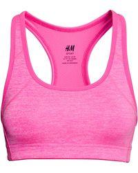 H&M Sports Bra Medium Support - Lyst