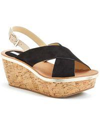 Diane von Furstenberg Women'S 'Maven' Wedge Sandal - Lyst