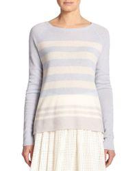 Joie Orfilia Cashmere Stripe Sweater - Lyst