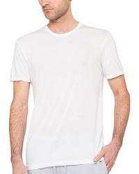 Splendid Mills Jersey Crew Neck T-Shirt - Lyst