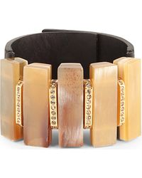 Marni Horn Leather Cuff - For Women - Lyst