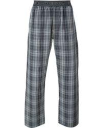 DIESEL | Check Print Pyjama Trousers | Lyst