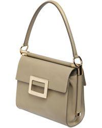 Roger Vivier Small Miss Viv Leather Top Handle Bag - Lyst