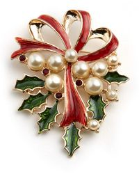 Lord & Taylor - Holly Pin - Lyst
