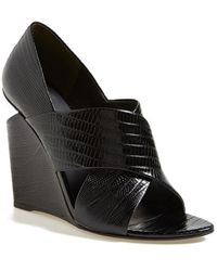 Alexander Wang Women'S 'Ida' Open Toe Wedge - Lyst