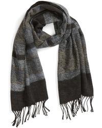 Echo - 'meadow Stripe' Wrap Scarf - Lyst