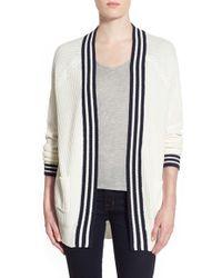 Trouvé | Stripe Front Cardigan | Lyst