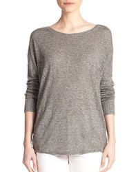 Vince Textured Sweater Tunic - Lyst