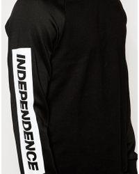 Izzue - Raglan Independence Sweatshirt - Lyst