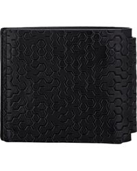 Lanvin - Labyrinth-Debossed Billfold - Lyst