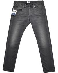 Edwin Ed-55 Relaxed Tapered Jean Black black - Lyst