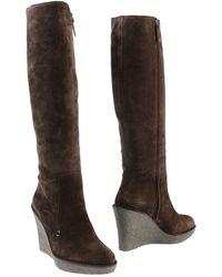 Armani Collezioni Boots - Lyst