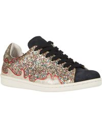 Etoile Isabel Marant Glitter & Suede Gilby Pumps - Lyst