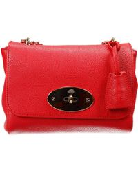 Mulberry Clutch Lyly Leather Bag - Lyst