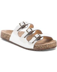 Schutz White Maiara Sandal - Lyst