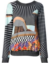 Clover Canyon - Abstract Print Jumper - Lyst