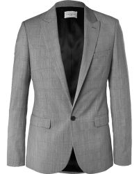Sandro Slim-Fit Prince Of Wales Checked Wool Blazer - Lyst