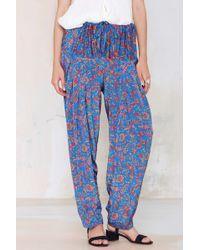 Nasty Gal Vintage Eshani Harem Pants - Lyst