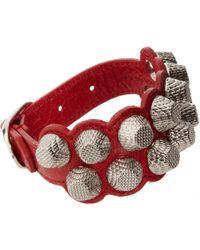 Balenciaga Arena Two Row Giant Bracelet - Lyst