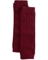 Brora Cashmere Cable-knit Wrist Warmers