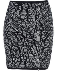 Surface To Air Knee Length Skirt - Lyst
