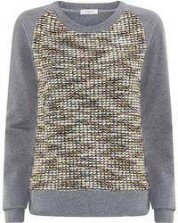 Paul By Paul Smith Summer Tweed Sweater - Lyst