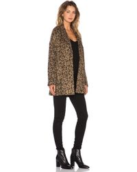 Somedays Lovin - Danger Wool Leopard Coat - Lyst