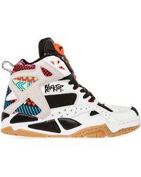 Reebok The Black Top Battle Ground Sneaker - Lyst