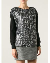 Costume National Scales Sweater - Lyst