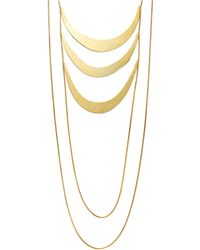 Herve Van Der Straeten | Tiered Bib Necklace | Lyst