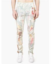 Hood By Air Men'S Da Vinci Rust Jeans multicolor - Lyst