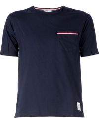 Thom Browne Chest Pocket T-Shirt - Lyst